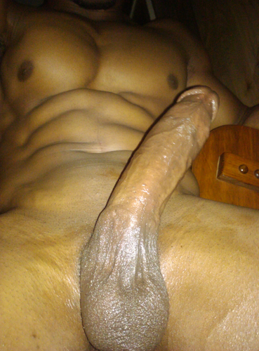 black guy dick self pic