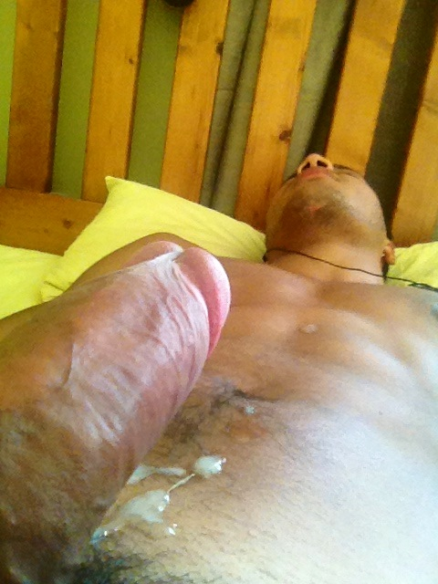 young male cumshot