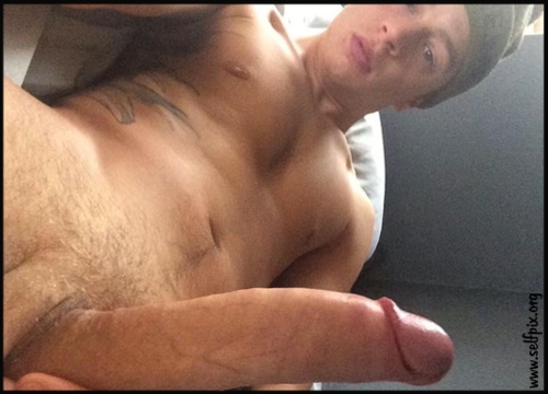 Dick Self Shots taken by a fit young guy